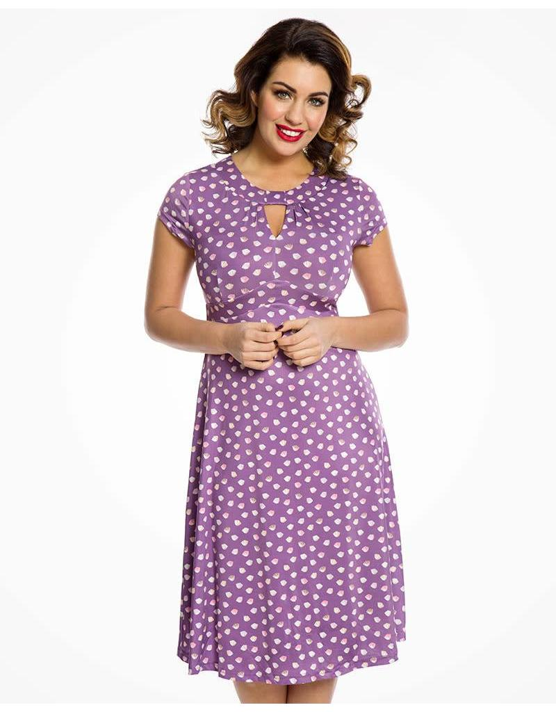 Lindy Bop 'Juliet' Fondant Fancies Print Tea Dress