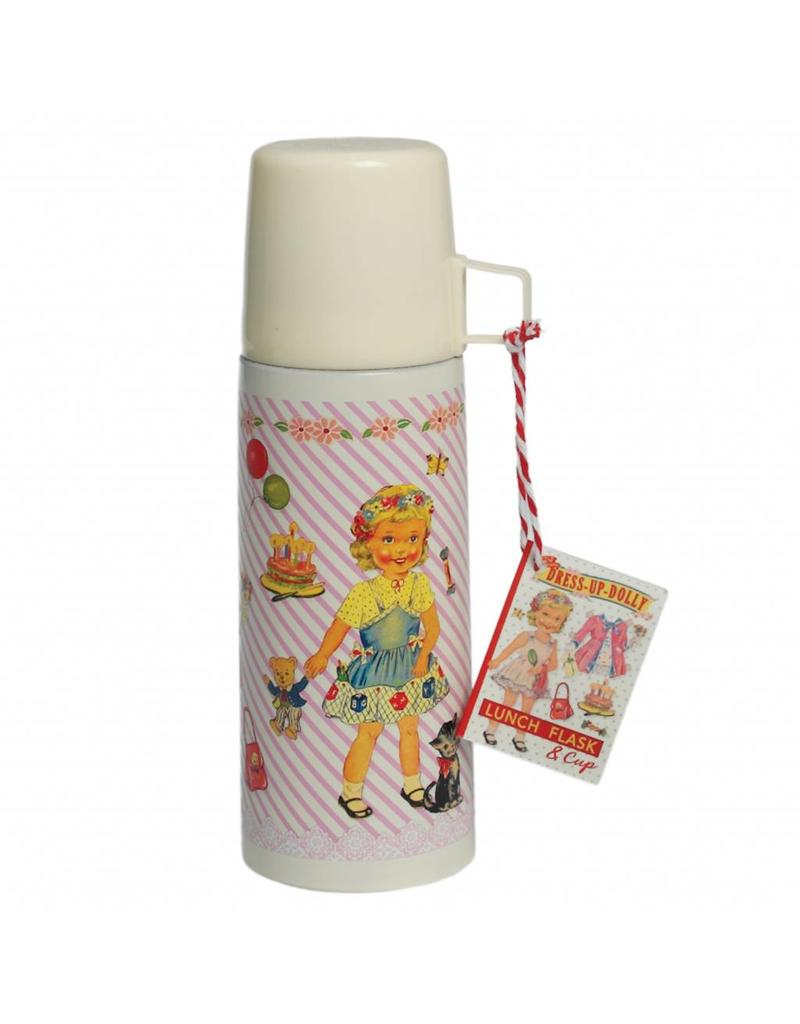 Dress up doll Flask