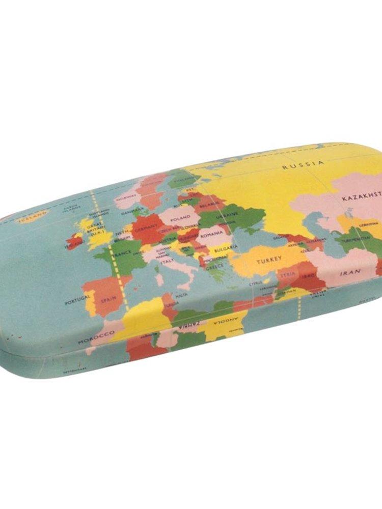 Rex London World Map Glasses Case