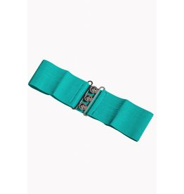 Banned Stretch Belt - Aqua