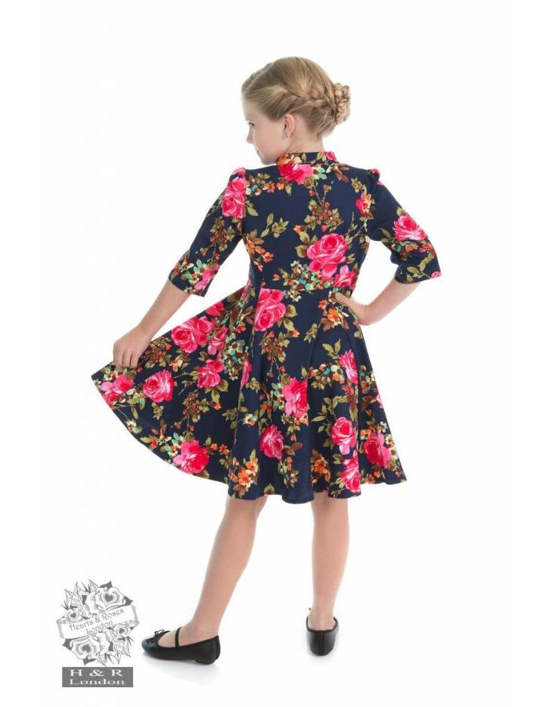 Hearts & Roses Autumn Afternoon Kids Dress