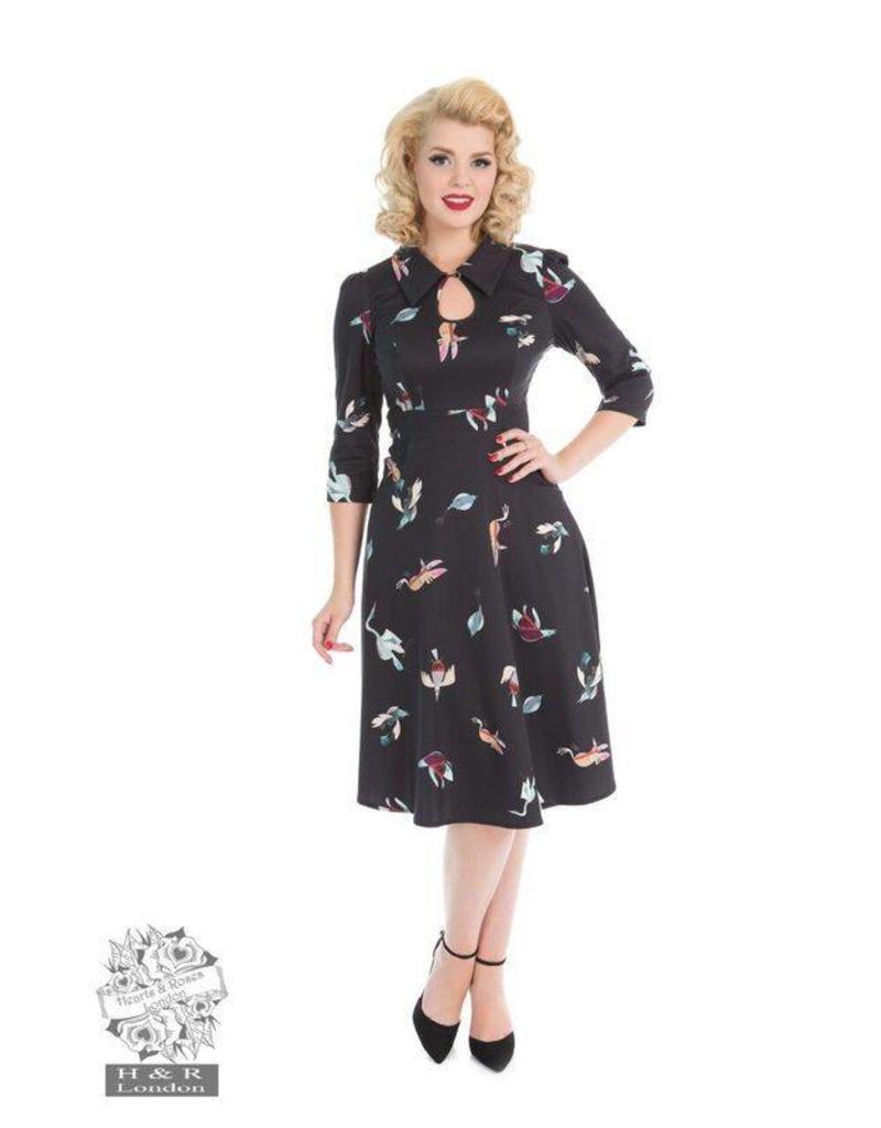 Hearts & Roses Freaky Bird Dress