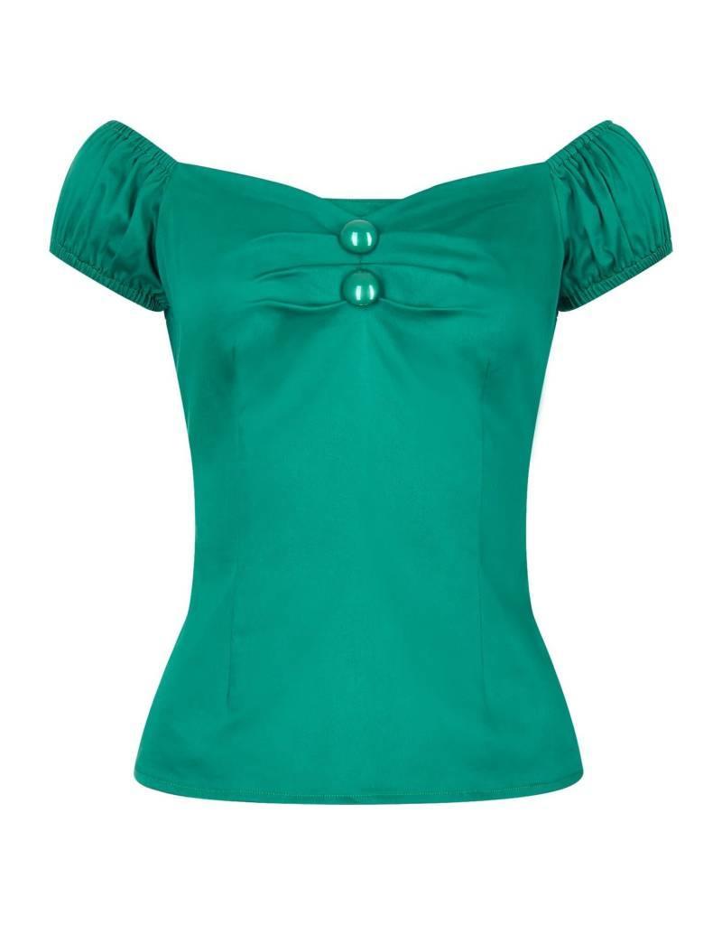 Collectif Dolores Top - groen