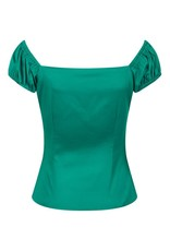 Collectif Dolores Top - Green