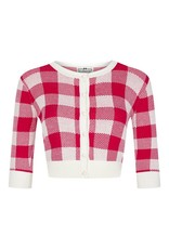 Collectif Lucy Gingham Cardigan