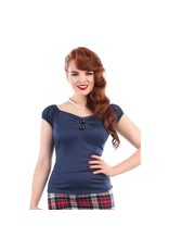 Collectif Dolores Top - Navy