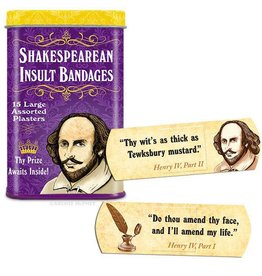 Shakespearean Insult - Bandages