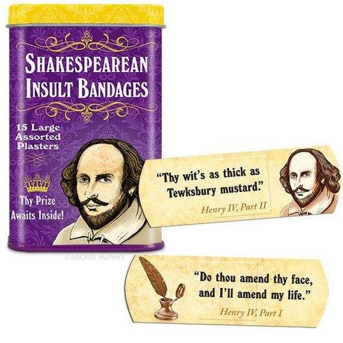 Shakespearean Insult - Bandages