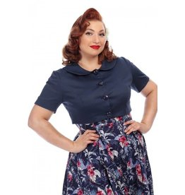 Collectif Ellie Cropped Jacket