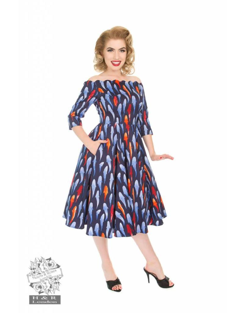 Hearts & Roses Ruby Swing Dress