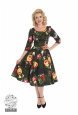 Hearts & Roses Striking Rose Dress