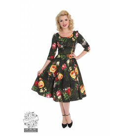 Hearts & Roses Striking Rose Dress