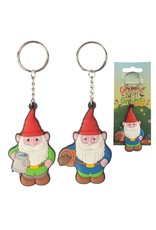 gnome sweet Gnome pvc sleutelhanger