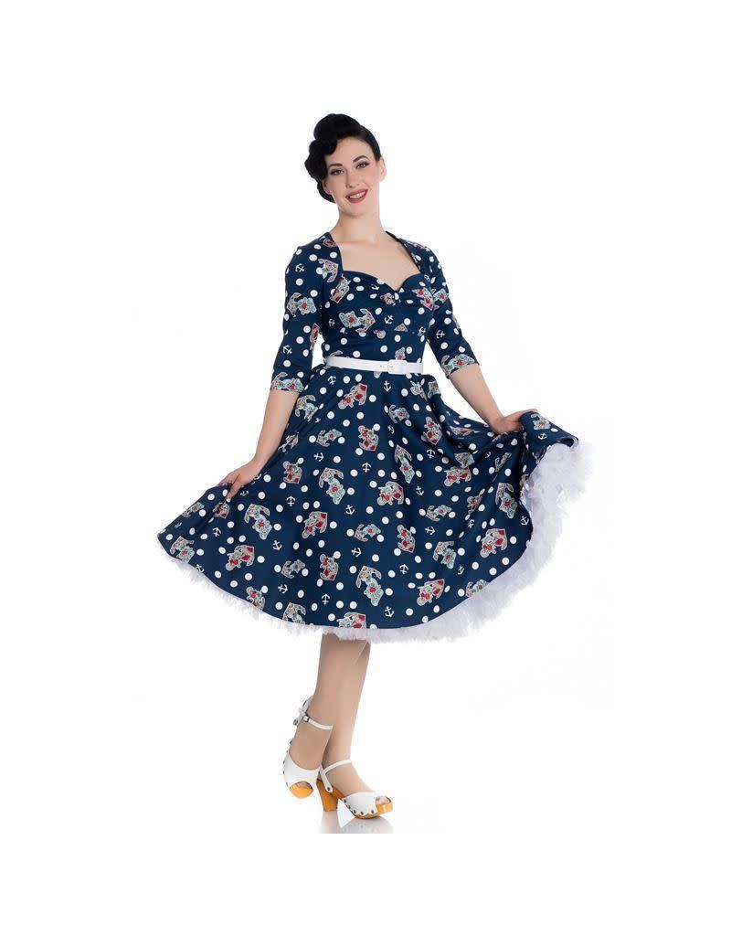 Hell Bunny St Tropez 50s Dress