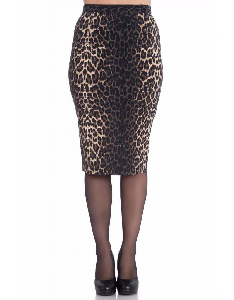Hell Bunny Panthera Pencil Skirt