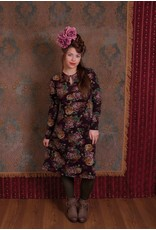 LaLaMour High Neck dress with roses