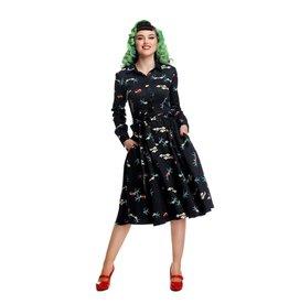 Collectif Mara True Love Swing Dress