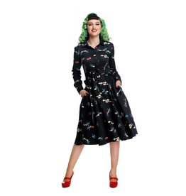 Collectif Mara True Love Swing-jurk