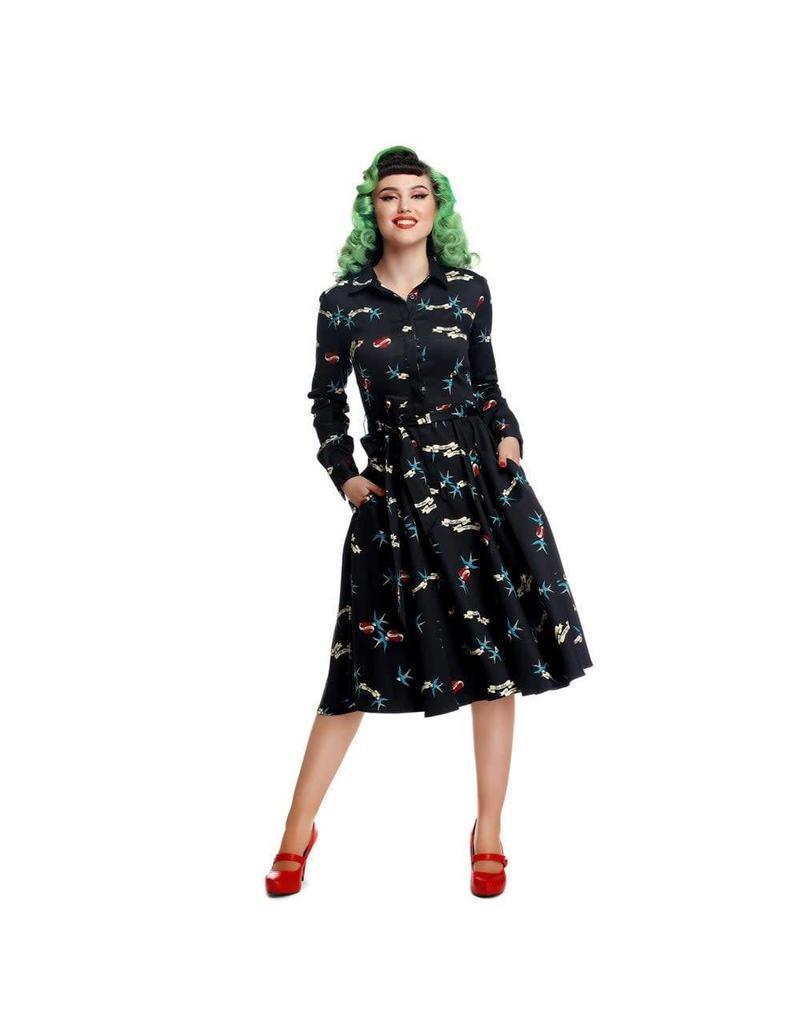 Collectif Mara True Love Swing-jurk