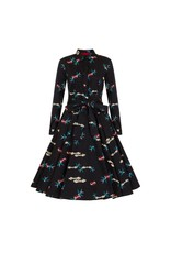 Collectif Mara True Love Swing Dress