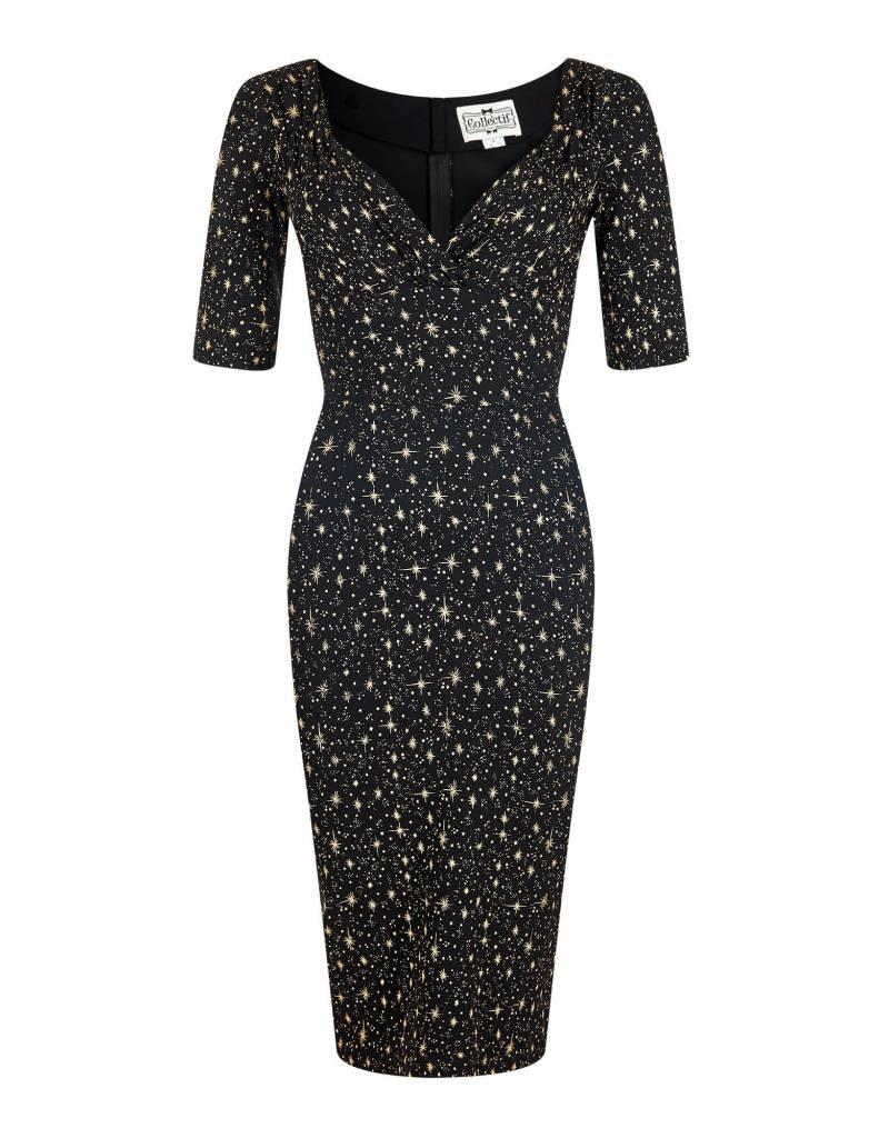 Collectif Trixie Atomic Star Pencil Dress