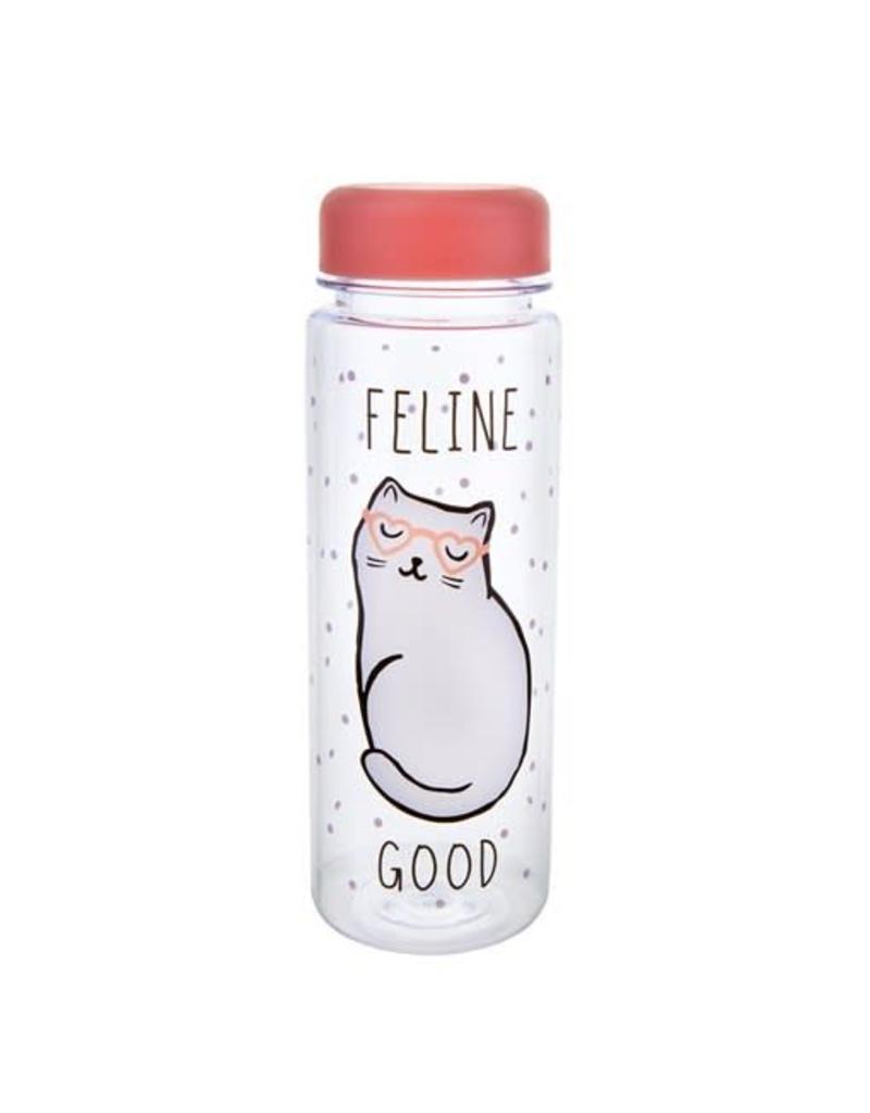 Sass & Belle Feline Good Water Bottle