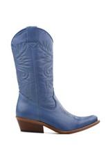 DWRS Cowboy Boots Azzurro