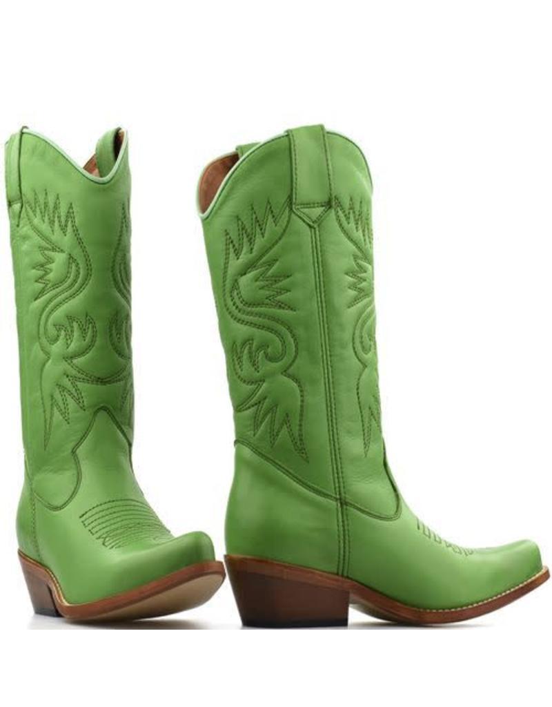 DWRS  Cowboy Boots Green