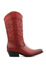 DWRS Cowboy Boots Red