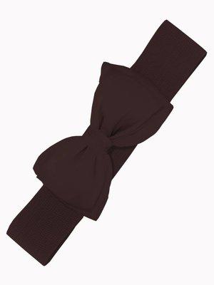 Bow Belt - brown
