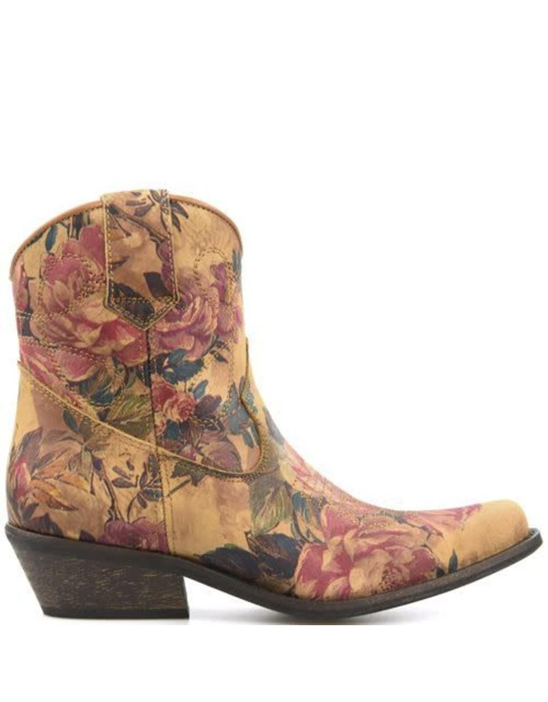 DWRS Cowboy Boots Flowers low
