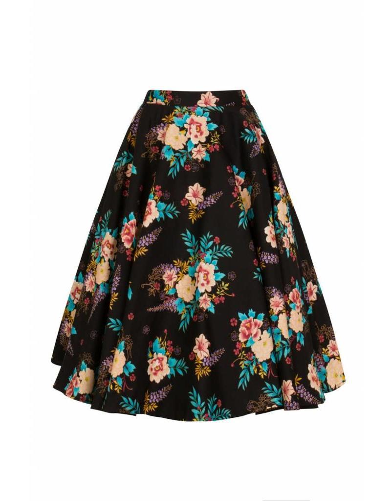 Hell Bunny Blue Bell 50's Skirt
