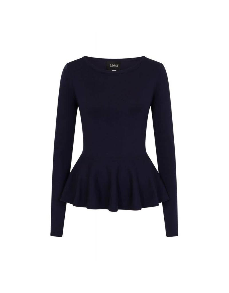 Collectif Jenni Peplum Jumper