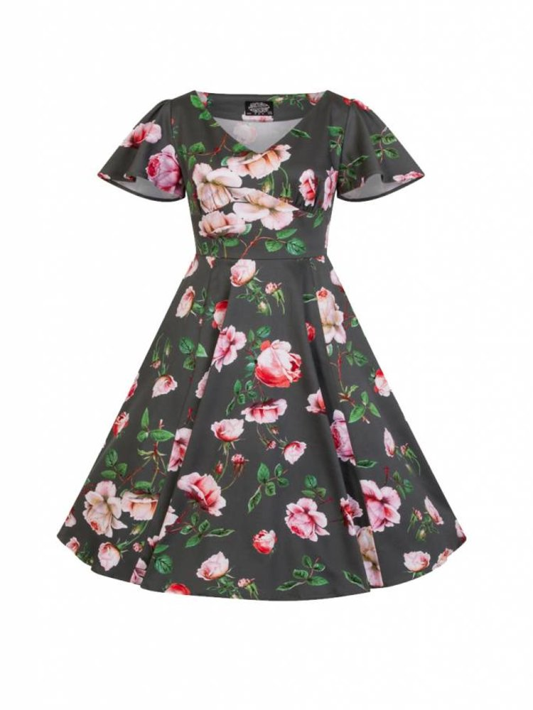 Hearts & Roses Amour Swing Dress - kids
