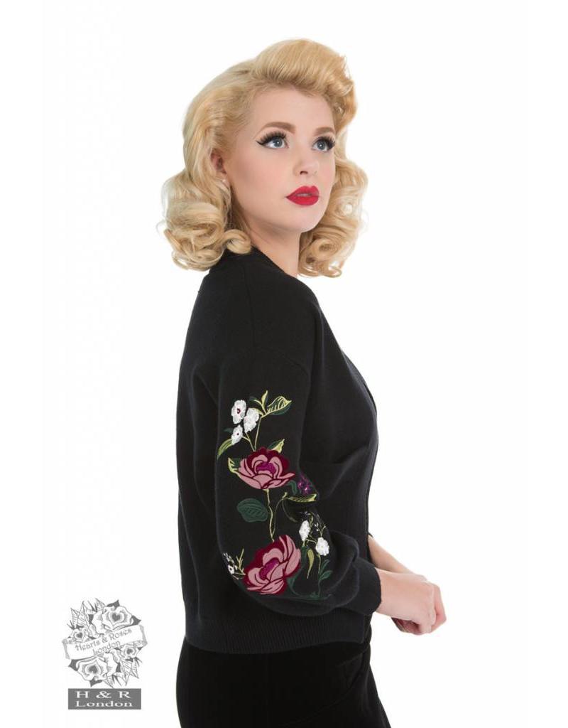 Hearts & Roses Eternity Rose Cardigan