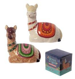 Alpaca  Peper- en Zoutstel