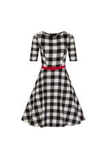 Collectif Suzanne Gingham swing jurk