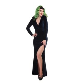 Collectif Lexie Velvet Maxi-jurk