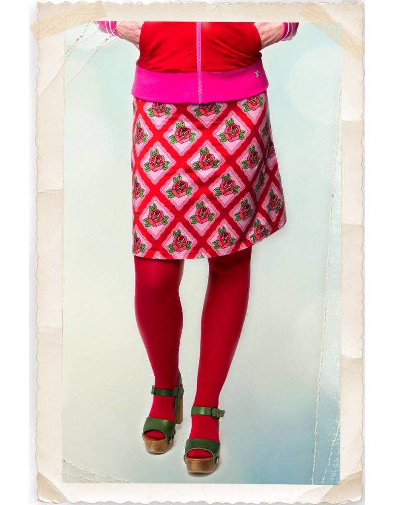 Tante Betsy Square Rose skirt