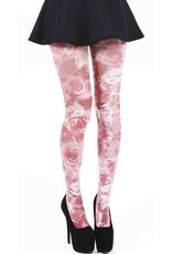 Pamela Mann Roseflower Printed Tights L-XXL