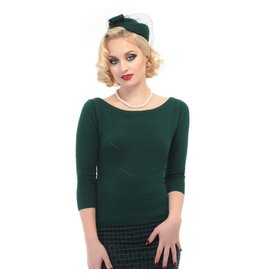 Collectif Bardot Boat Neck Jumper