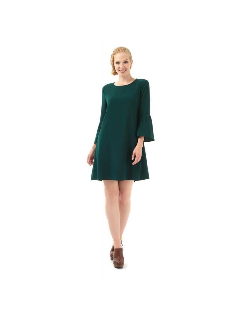 Bright & Beautiful Greta Jurk - groen