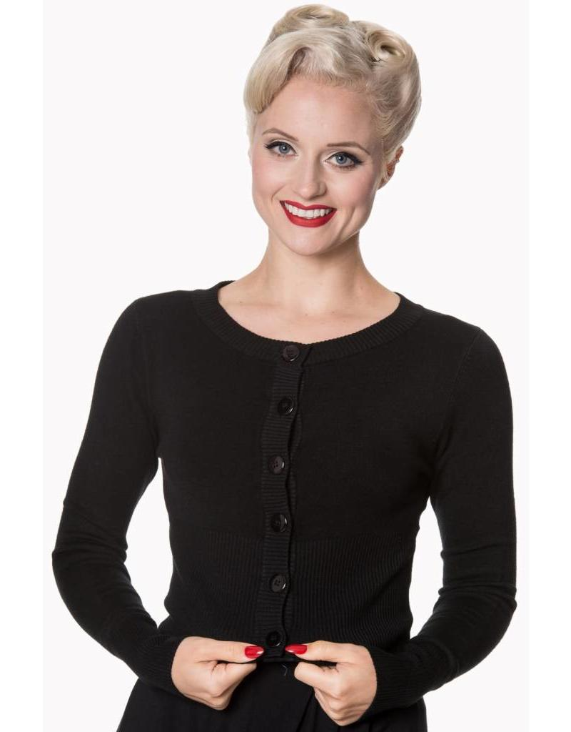 Banned Dolly cardigan - black