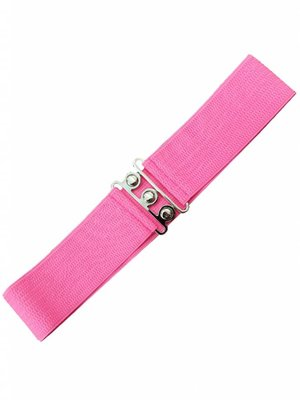 Stretch belt - Hot Pink