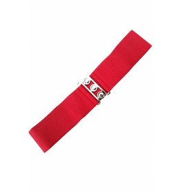 Banned Stretch belt - Red