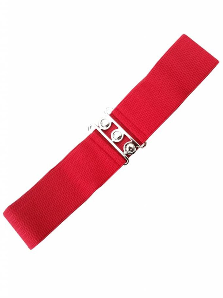 Banned Stretch belt - Red