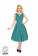 Hearts & Roses La Rosa Dotty Swing Dress