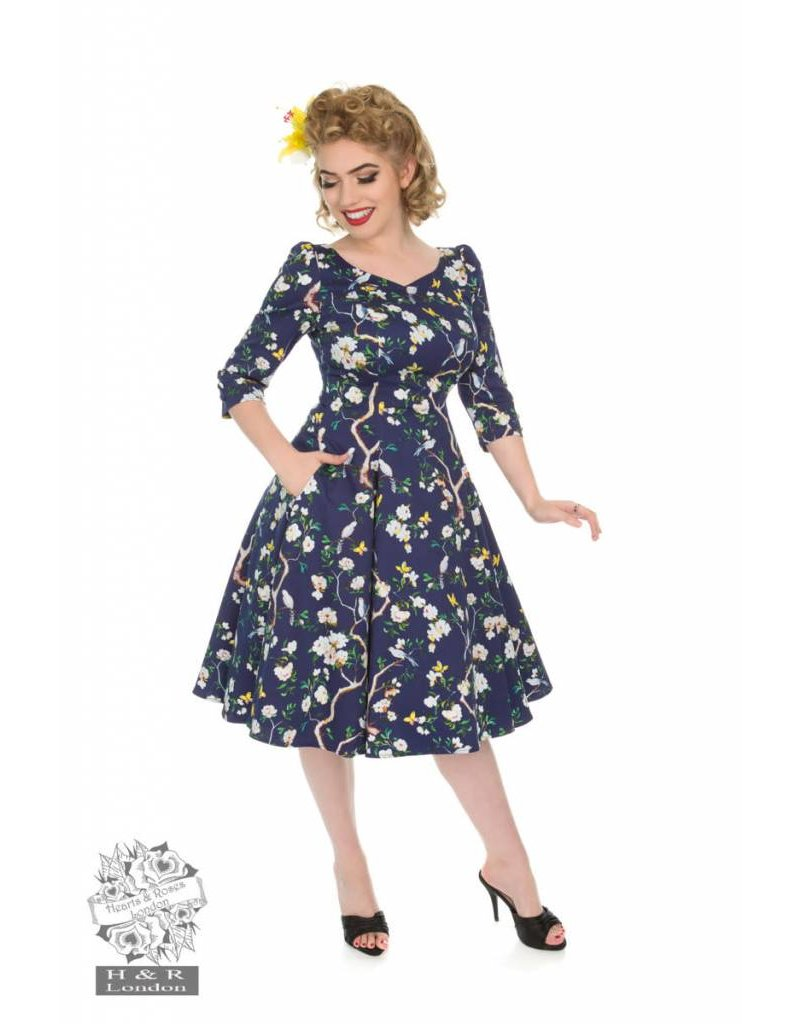 Hearts & Roses Enchanted Garden Swing Dress