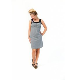 Tante Betsy Josephine dress Houndtooth