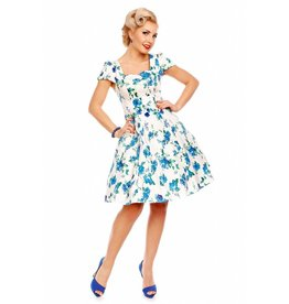 Dolly & Dotty Claudia Floral Fifties Style Dress